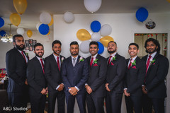 See this enchanting groom and groomsmen ready.