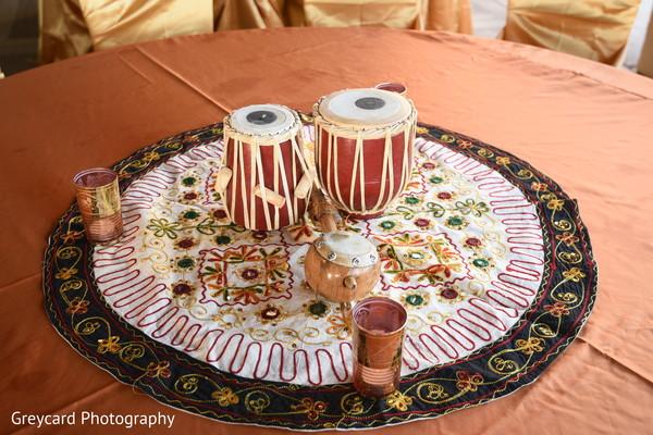Sangeet pre-wedding decorations.