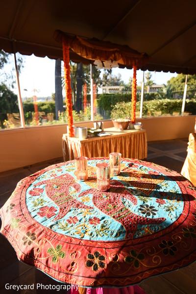 Magnificent Indian pre-wedding celebration venue.