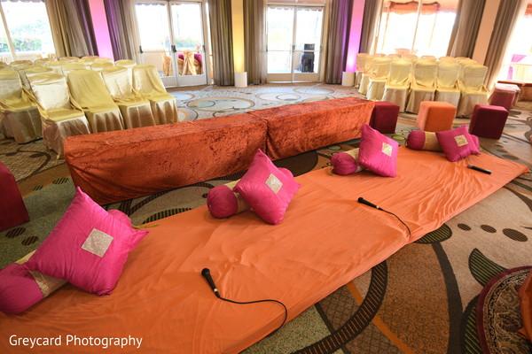 Sangeet seats setup.