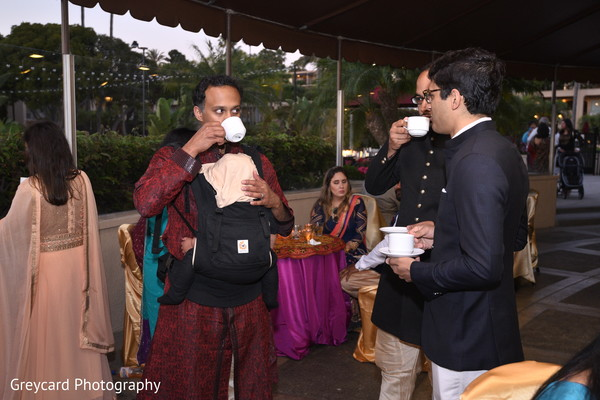 Indian sangeet guest capture.