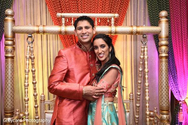 Sweet shot of Indian couple.