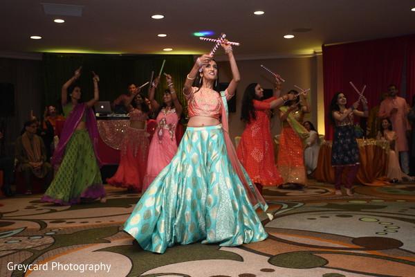 Maharani at her Dandiya raas dance capture.