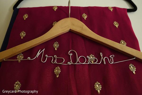 See this incredible Indian bridal hanger.