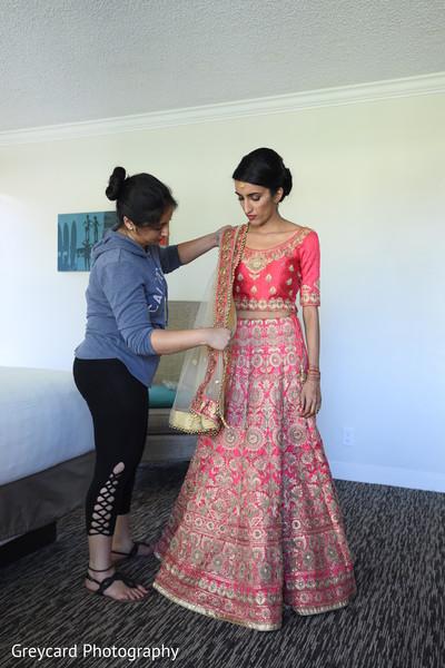 Indian bride treasured moments