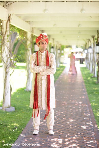 Maharajah waiting for maharani.
