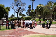 See this upbeat Baraat outdoors celebration.