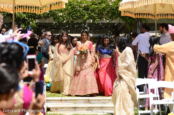 Maharani entrance to wedding ceremony unforgettable moment.