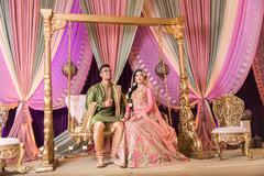 Indian wedding inspiration for Sangeet.