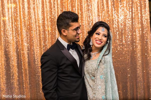 Enchanting Indian couple photo.