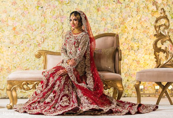 Beautiful Indian bridal photo session.