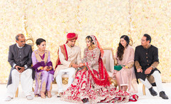 Wonderful capture of Indian couple's engagement.