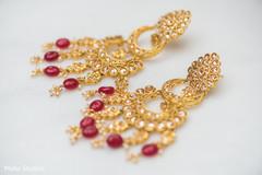 Marvelous Indian bridal  earrings.
