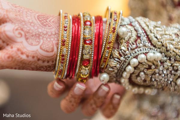 Marvelous Indian bridal bangles.