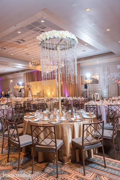 Elegant  table centerpiece decoration.