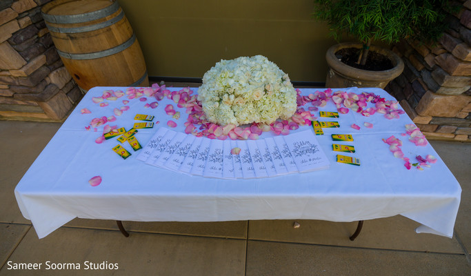 Lovely reception details