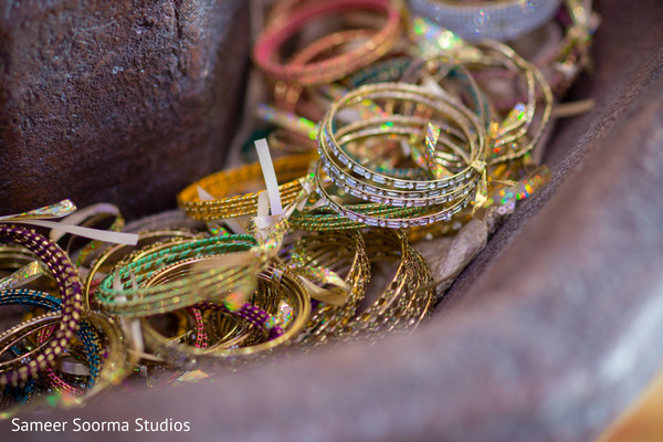 Indian bride jewelry details