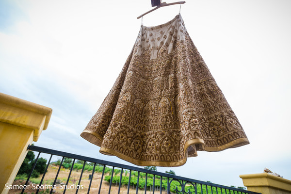 Lengha about to be used by Maharani