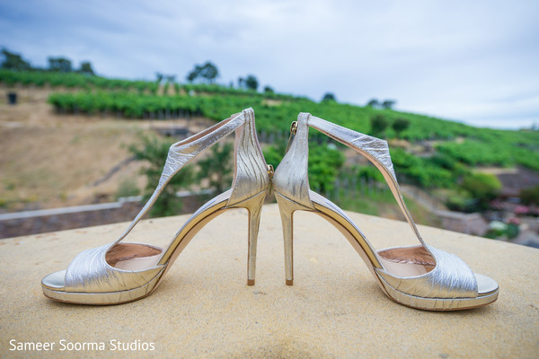 Shoes used by Indian bride