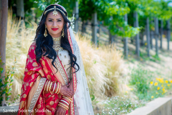 Ravishing indian bride