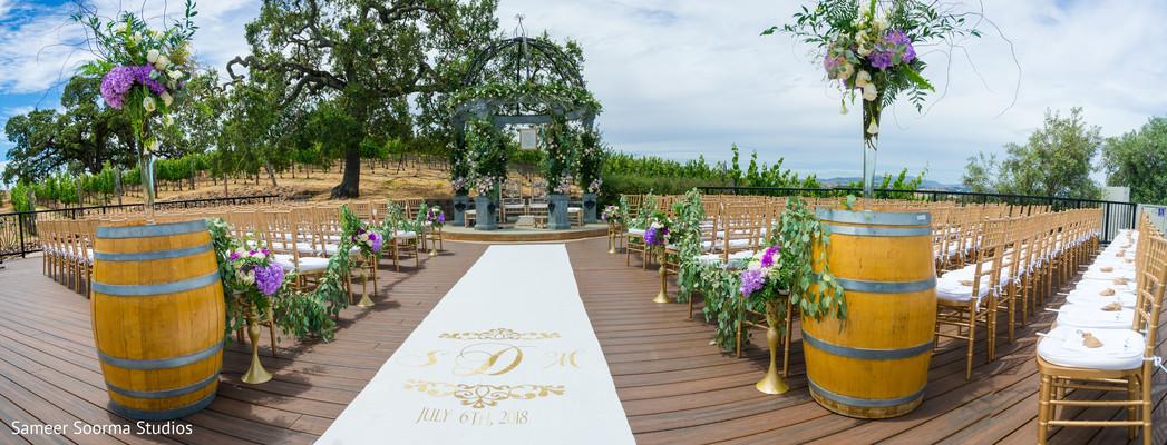 Marvelous indian wedding outdoor venue