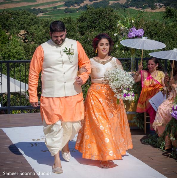 Inspiring indian bridal party fashion
