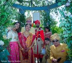 Indian wedding portrait