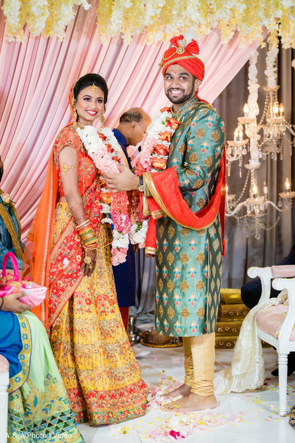 See this dazzling couple during the ceremony