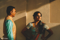 Dreamy Indian bide and groom photography.