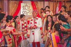 Lovely indian wedding ceremony.