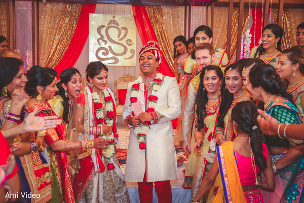 Lovely indian wedding ceremony.