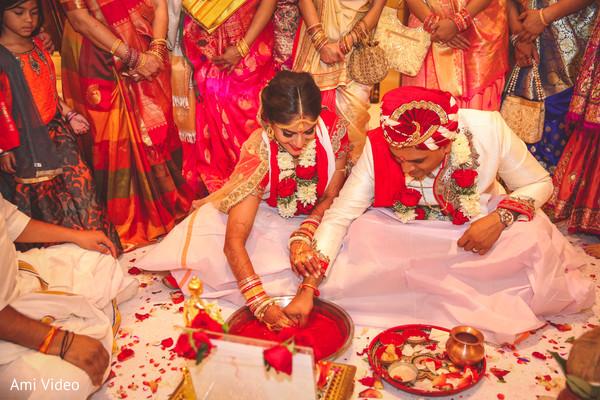 See this traditional Saptapadi ceremony.