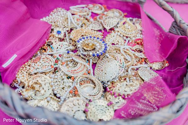Jewelry ready to be worn by Maharani