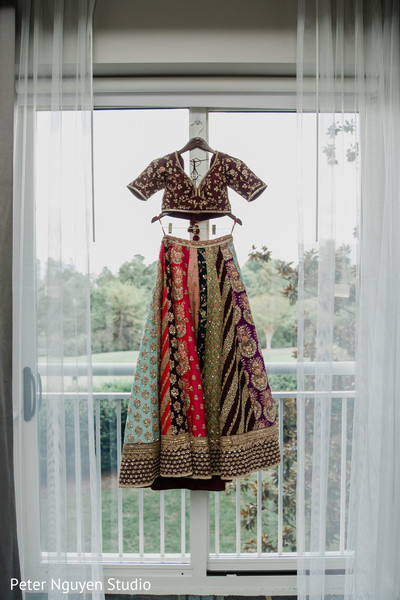 Amazing lengha ready to be worn