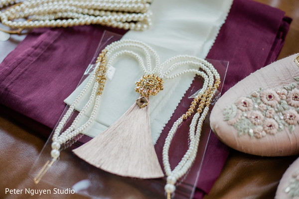 Accessories of the Indian bride