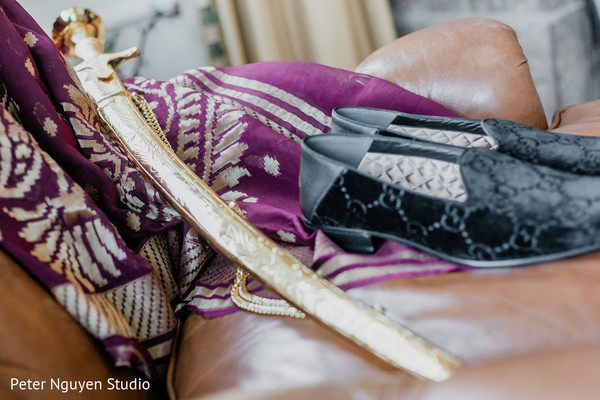 Details of the kirpan used by the Indian groom