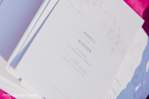 Beautiful Indian wedding invitations