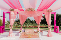 See this dazzling Indian wedding stage