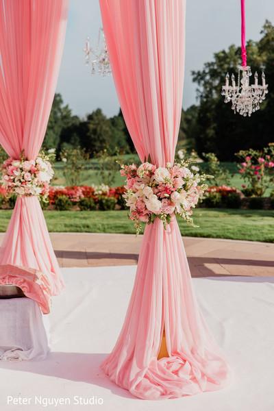 Majestic Indian wedding ceremony venue decor