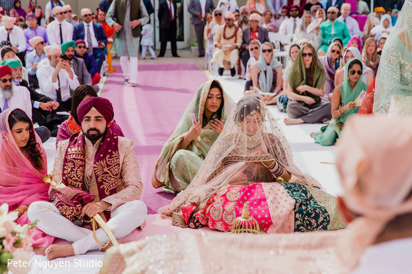 See this dazzling Indian wedding ceremony