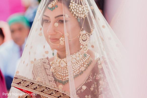 Detail of dazzling Maharani