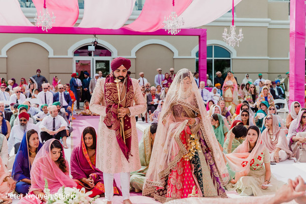 Amazing shot of Indian wedding