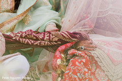 Beautiful detail of Indian wedding ceremony