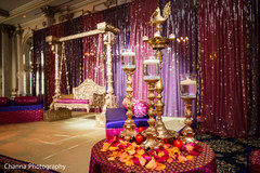 Decor of the Indian wedding