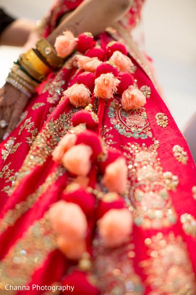 Maharani's lengha details