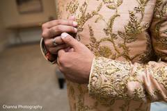 Details of groom's sherwani