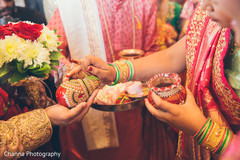 Beautiful moments of the Indian wedding ceremony