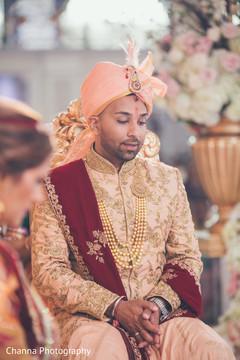 Raja at the ceremony