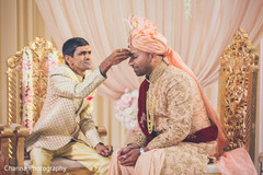 Moments of the Indian wedding ceremony