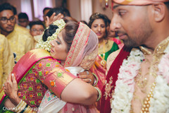 Emotional moment between Maharani and Raja